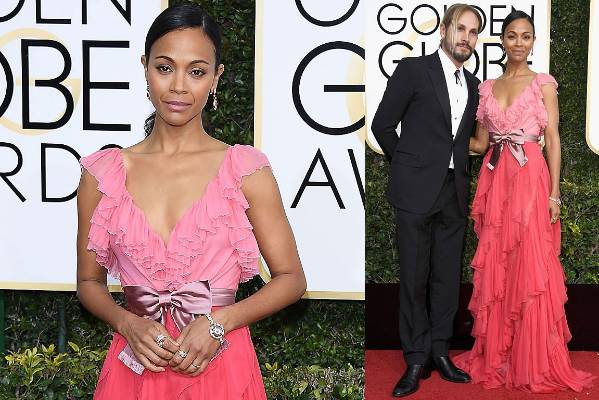 THE GOOD: If Zoe Saldana (or her husband, Marco Perego) secretly holds any horrifying beliefs, I hope we never find out. ...