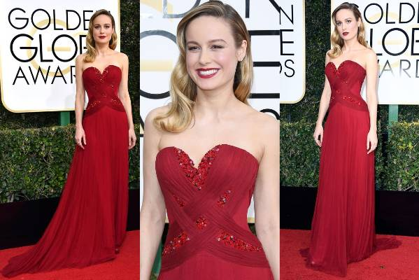 THE GOOD: Brie Larson in Rodarte is an absolute triumph. She looks about seven feet tall, impossibly elegant, and also ...