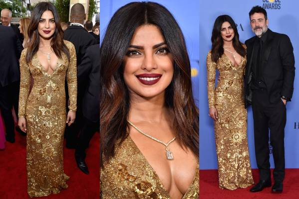THE GOOD: I am obsessed with every part of this. Priyanka Chopra is wearing Ralph Lauren, and she looks like a literal ...