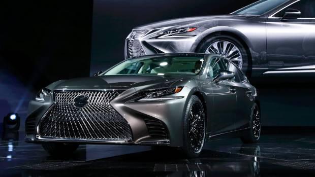 Lexus LS Luxury Car Unveiled At Detroit Auto Show Stuffconz - Lexus car show