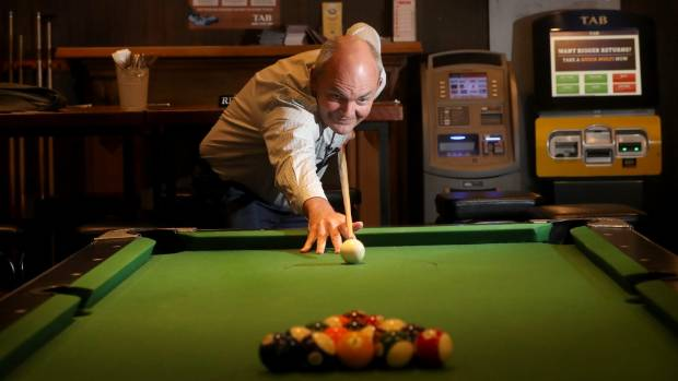 Finance Minister Steven Joyce says one of his favourite parts of playing pool is trying to think two or three plays ahead.