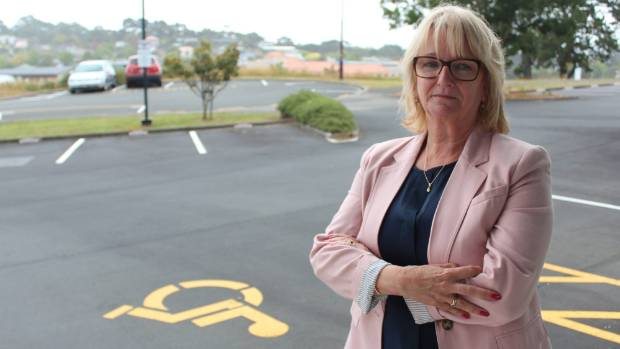 Sonia Thursby, chief executive of Yes Disability Resource Centre in Albany, is annoyed with people who abuse the ...