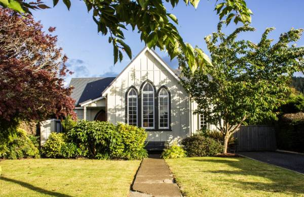 The former St Thomas Anglican Church in Outram, near Dunedin was extensively restored in 2004 to create an inviting ...