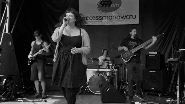 Palmerston North band Diamond Sutra performing at Sounds of Summer.
