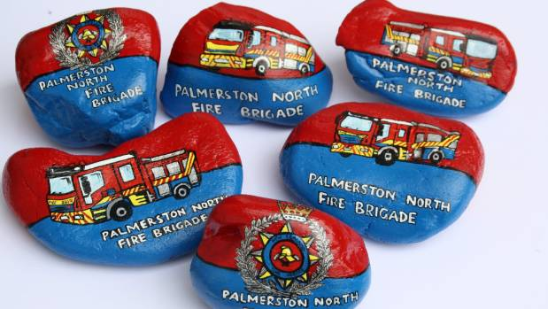 The Palmerston North Fire Brigade Palmy Rocks collection.