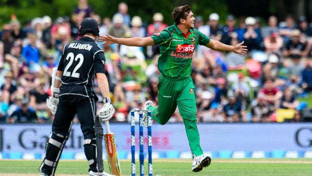 Fast bowler Taskin Ahmed is poised for a test debut for Bangladesh against New Zealand and liked what he saw from the ...