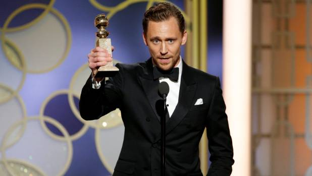 "Tom Hiddleston's ""salute"" to humanitarian workers didn't come out quite right."