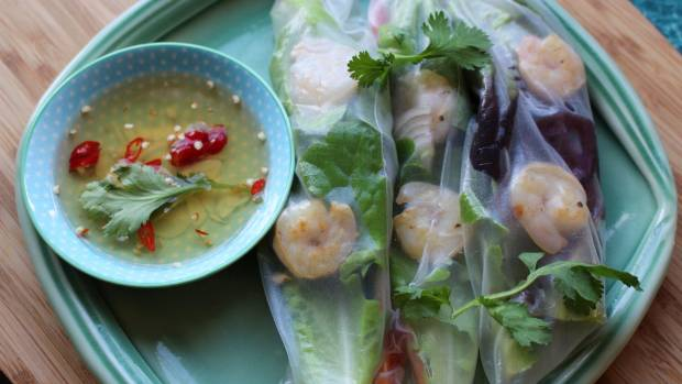 A good dipping fish sauce for fresh spring rolls should taste both strong sweet, salty and sour.