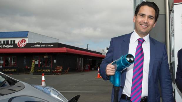 Transport Minister Simon Bridges has bought two EV's for himself and his wife.
