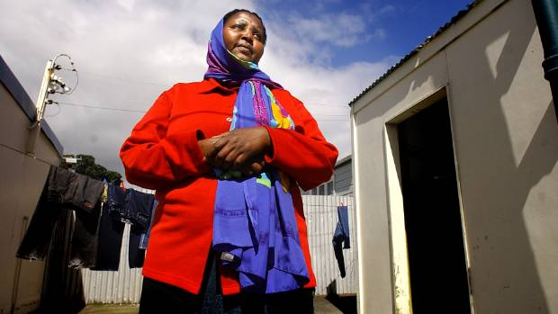Asha Abdille from a 2004 news report when she was trying to get the rest of her 14 family members into New Zealand.