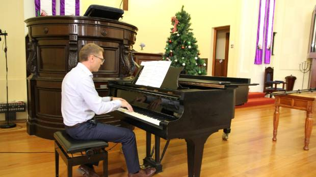 Paul Goldsmith says playing piano is now one of the greatest joys he has in his life.
