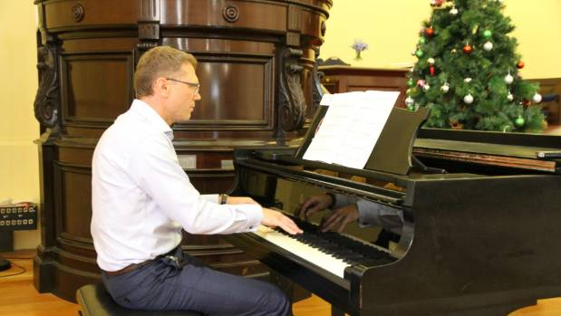 Science and Innovation Minister Paul Goldsmith says he has occasionally been called upon to prove his piano-playing ...
