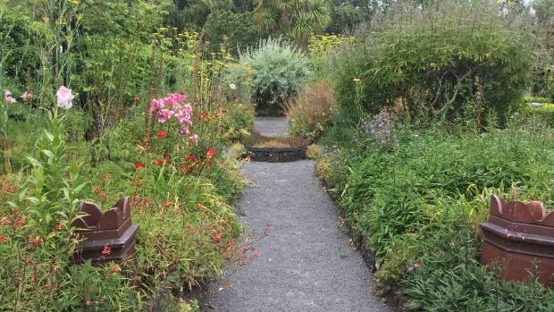 Planting of the cottage garden began in November 2004 but Spooner says it is best in the spring.