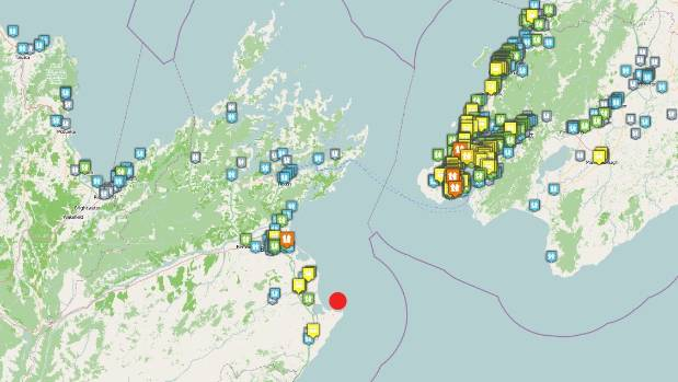 More than 5000 people reported feeling the quake.