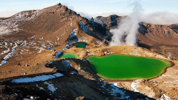 Emerald Lakes, Mt Tongariro.