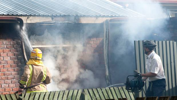 Ivan Krippner was riding his bike to work when he saw smoke coming on a house on Te Anau's Luxmore Dr. He grabbed a hose ...