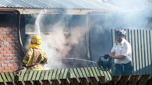 Ivan Krippner was riding his bike to work when he saw smoke coming out of a house on Te Anau's Luxmore Dr. He grabbed a ...