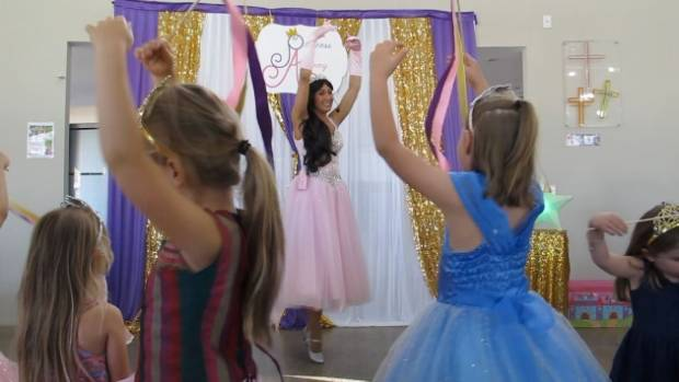 Princesses learn manners, self worth and confidence through dance and song.