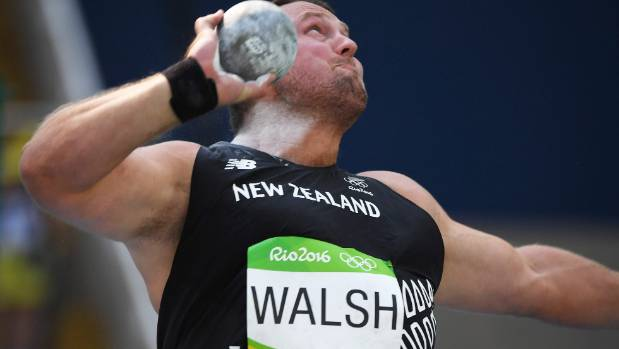 Tom Walsh in action during last year's Rio Olympics.