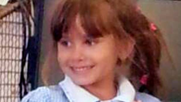 Katie Rough, 7, was found lying in a field with horrific injuries.