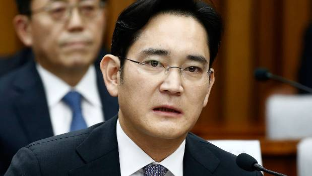Lee Jae Yong, vice chairman of Samsung, is a suspect in a massive bribery case.