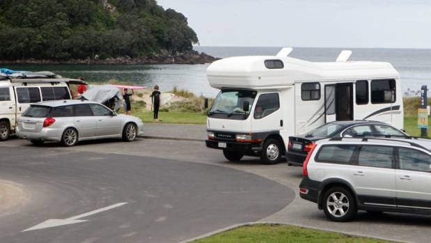 Freedom campers on the Coromandel have been better behaved than previous years.