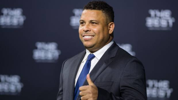 Ronaldo of Brazil at The Best FIFA Football Awards in Zurich, Switzerland.