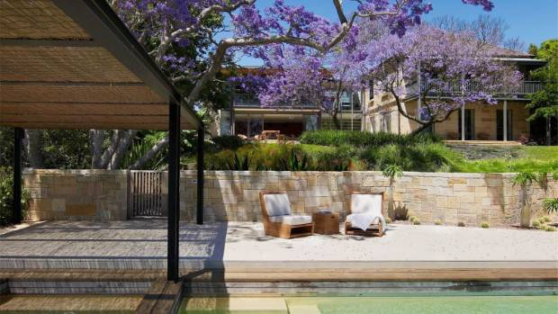 Beautiful gardens and outdoor living areas are a feature of the expansive property.