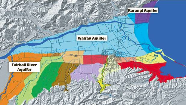 Marlborough aquifers