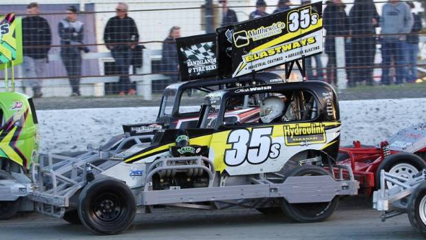 Josh Walsh will drive for the Stratford Stormers this weekend