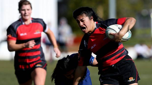 Keilamarita Pouri-Lane, pictured in action for Canterbury, is one of four new additions to the Tasman women's sevens team.