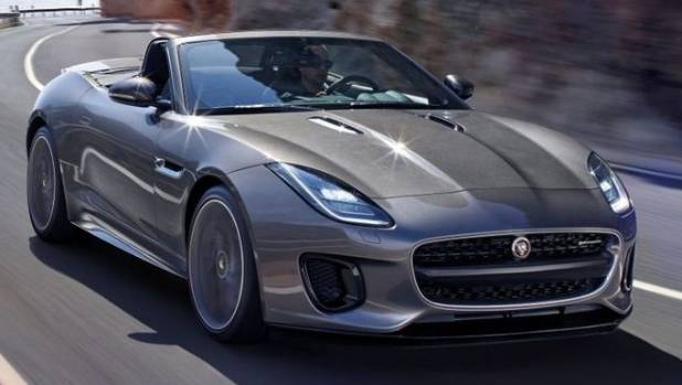 2018 jaguar f type revealed. Black Bedroom Furniture Sets. Home Design Ideas
