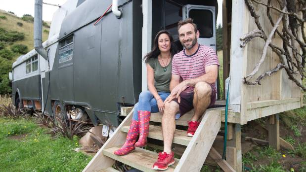 Tara Wrigley and Guillaume Gignoux didn't think their house bus rental would be as popular as it is.