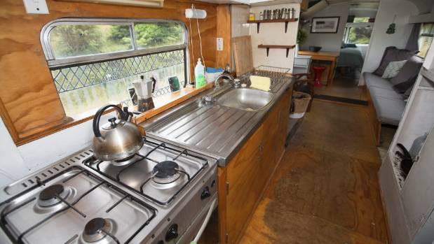 The bus has full kitchen facilities, which allow you to cook meals, even a roast dinner if you want.