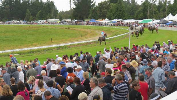 The races at Kumara on the West Coast in 2014.