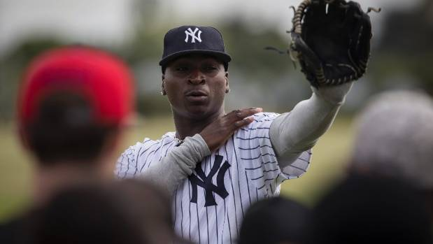 New York Yankees shortstop Didi Gregorius will hold a training session in Levin on Sunday.