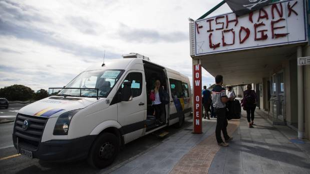 InterCity delivered passengers to Kaikoura on Thursday morning, their first trip in since the November 14 quake.
