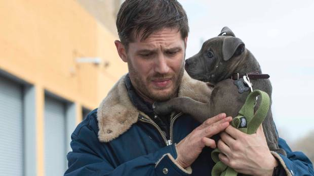 Tom Hardy helps abandoned puppies find a new home