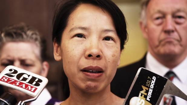 Kathy Lin has stood by her husband and proclaimed his innocence during the seven-year court process.