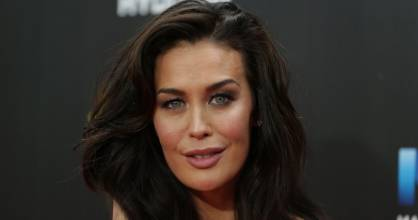Megan Gale is a mum to River, 2.