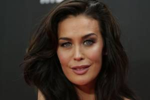 Megan Gale has revealed she's pregnant.