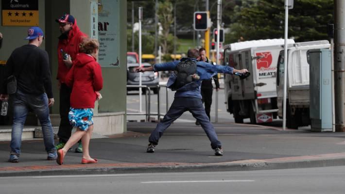 7ff0515c43a January 2017  A pedestrian braces himself against a gale