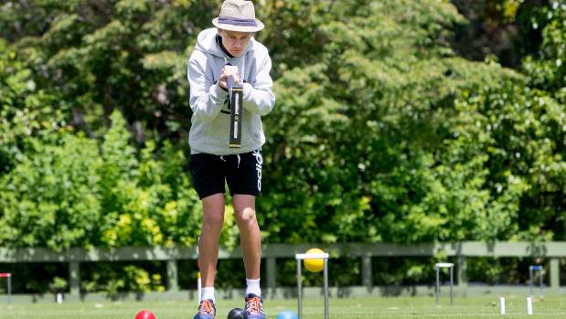 Edmund Fordyce from South Canterbury is now the youngest ever national golf croquet open singles champion.
