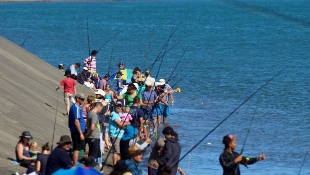 The kid's fishing competition has proven to be a popular event in previous years.