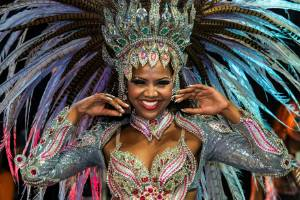 Carnival in Brazil is a multi-day celebration that engulfs cities in a riot of dancing and drinking