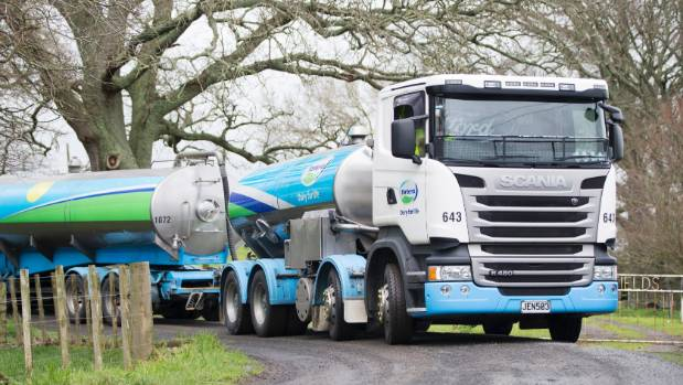 Seats in the two types of tanker Fonterra uses can safetly take a maximum of either 140 kilograms or 150kg, the company says.
