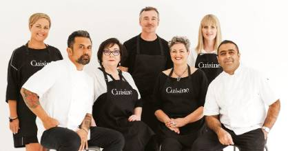 Cuisine Artisan Awards 2017 judging panel: Fiona Smith (head judge and Cuisine senior food writer); Michael Meredith, ...