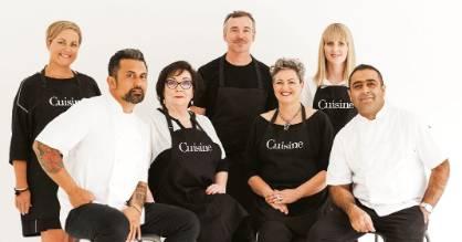 Cuisine Artisan Awards 2017 judging panel: Fiona Smith (head judge and Cuisine senior food writer); Michael Meredith, ...