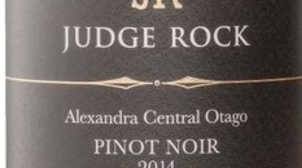 Judge Rock Pinot Noir 2014.