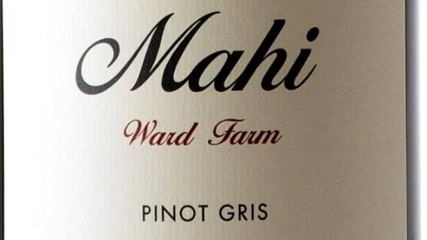 Mahi Ward Farm Pinot Gris 2015.